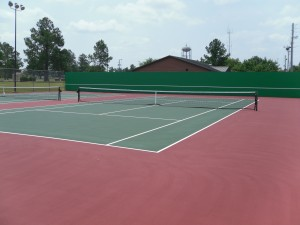 Moody Air Force Base Tennis Courts