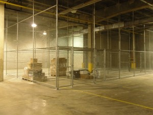 RAFB - Warehouse Security Fencing